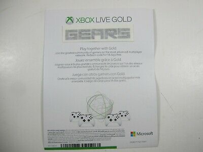 XBOX LIVE 14 Day GOLD Trial Membership Code INSTANT delivery 2 Weeks key One 360