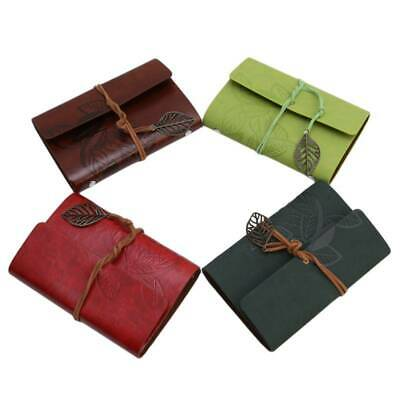 Faux Leather Journal Writing Notebook Antique Daily Notepad for Men Women Unisex