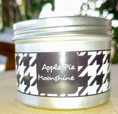 6 oz. Tin with Maximum Scented Wax Mini Cubes Melts Tarts APPLE PIE MOONSHINE