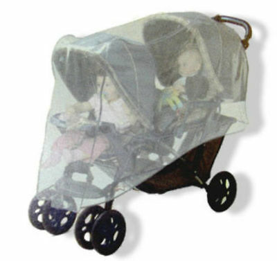 One Step Ahead Double Tandem & Side by Side Stroller Insect Bug Net Cover