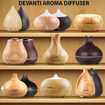 Diffuser Aroma Aromatherapy Ultrasonic Essential Oil Diffuser Air Humidifier