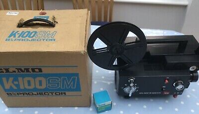 ELMO K-100 SM 8mm Movie Projector Made in Japan