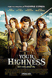 Your Highness / Year One / Land Of The Lost (DVD, 2011, 3-Disc Set)