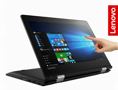 "Lenovo Yoga 11.6"" Touch Convertible Laptop Intel Pentium 4GB 320GB Win 10"