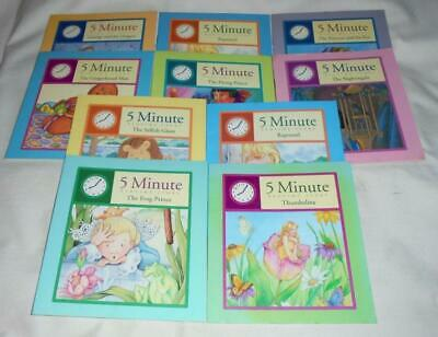 COMPLETE set of 10 5-Minute Bedtime Story tale books