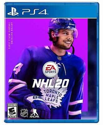 Brand New Sealed NHL 20 Hockey - Standard Edition - For Sony PlayStation 4 PS4