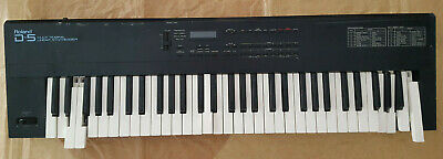 Roland D-5 Multi Timbral Linear Synthesizer Not Working / For Pieces