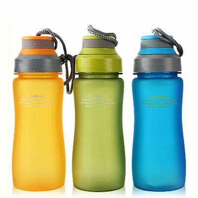 Water Bottle Tour Outdoor Sport School Leak Proof Seal Brand Plastic Drink Ware