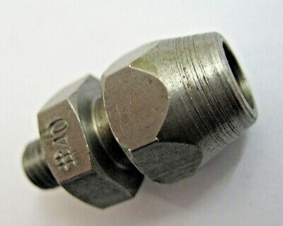 No40  2.5mm 1/4 - 28 AIRCRAFT TOOLS THREADED COLLETS NUMBERED  P325