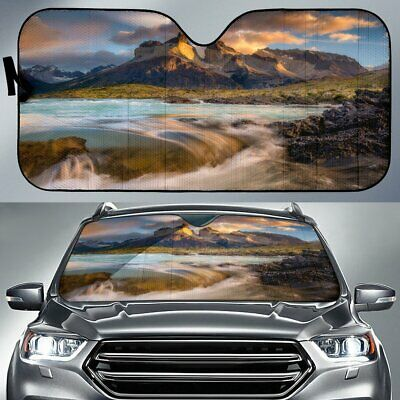 Paine Towers Nature Car Sunshade