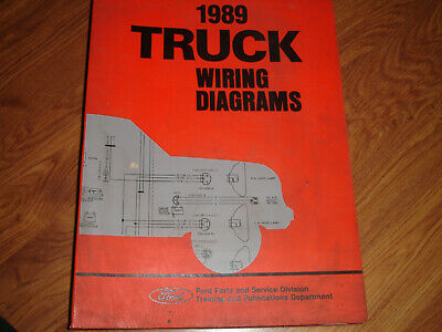 1989 Ford Econoline Van E150 E250 Electrical WIRING DIAGRAMS SCHEMATIC Manual
