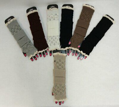 Ladies Knitted Hand Warmers Loose Knit Women's gloves