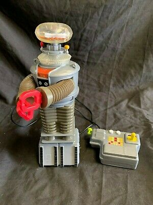 Lost in Space B-9 Robot Remote Control Toy Island 1998