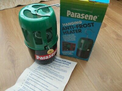 Parasene 560 Paraffin Wick Mini Hanging Greenhouse Cold Frame Heater New