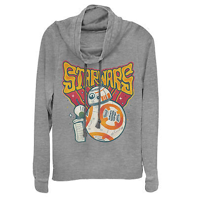 Star Wars: The Rise of Skywalker Droid Duo Juniors Graphic Cowl Neck Sweatshirt