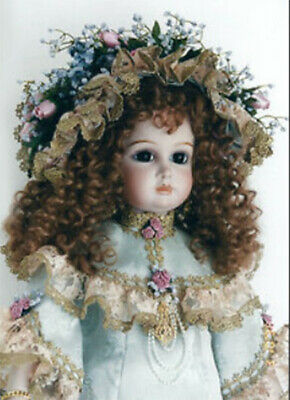 ANTIQUE REPRODUCTION JUMEAU 28 in TORY PATRICIA LOVELESS PROCELAIN DOLL NEW NRFB