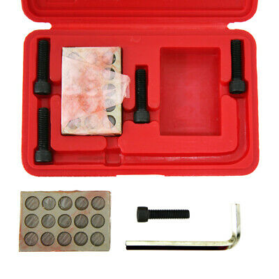 "1-2-3 Precision 23 Hole Block Set With 3/8""-16 Socket Head Cap Screws &wrench"