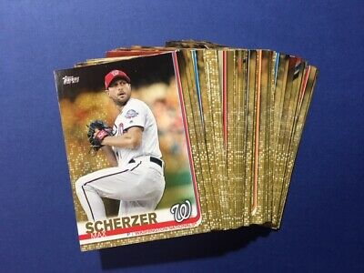 2019 Topps Baseball Series 2 Serial Numbered GOLD Parallel - YOU PICK  FREE SHIP