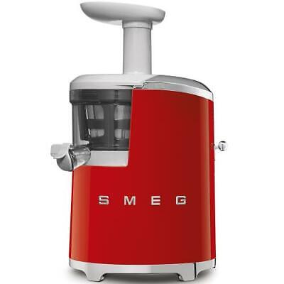 Smeg SJF01RDEU Extractor by Juice Years 50 150 Watts 500 ML Red Chrome