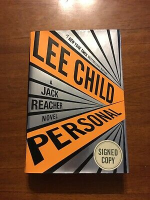 SIGNED Personal by Lee Child 1st Edition First Printing 2014 Hardcover
