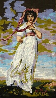 Twilleys Completed Unframed Cross Stitch Picture Pinkie By Thomas Lawrence