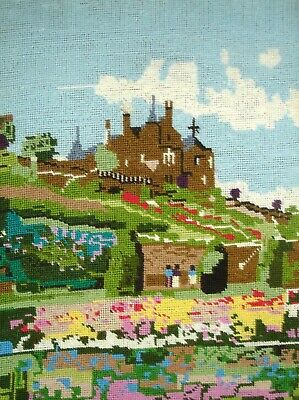 Craft Collection Completed Unframed Cross Stitch Picture Drummond Castle