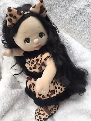 Leopard Replica Outfit ~ Top, Skirt With Tail, Hair Bow And Slippers ~ Very Cute