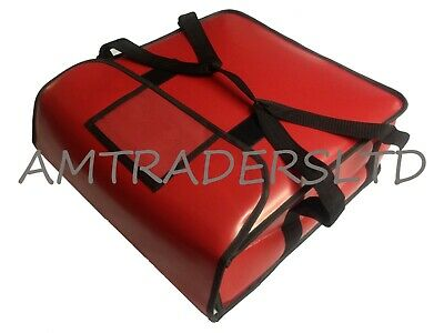 """Pizza Delivery Bag  Heavy duty Insulated extra Strong vinyl 14x14x7.5"""" approx"""