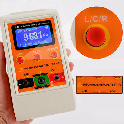 PRO Inductance Capacitance & Resistance Meter Tester, 1% Accuracy, 5 Digits