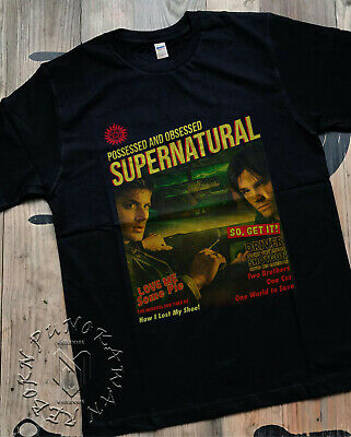New Supernatural Days 2019 End Of The Road Tour T-Shirt