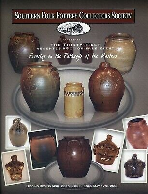(2) Southern Folk Pottery Collectors Society Catalog's