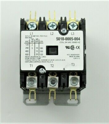 Q-Mark Marley Engineered Products 5018-0005-004 - 24VAC Coil -  3 POLE CONTACTOR
