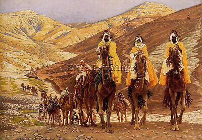 James Jacques-Joseph Tissot Journey Of The Magi Artist Painting Reproduction Oil