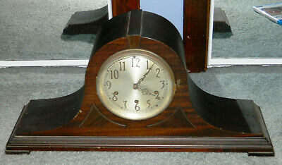 ANTIQUE SETH THOMAS SHELF MANTLE CLOCK No.98 with Westminster Chime to Restore