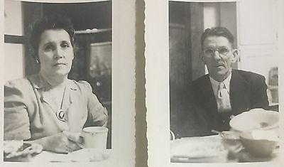 Vintage Photographs Two Nice Portrait Studies Of A Man And A Woman 1950s a8
