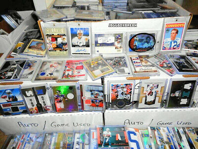 Bargain Memorabilia Lot Game Used Auto Autograph RC Patch Hof Football Hot Pack