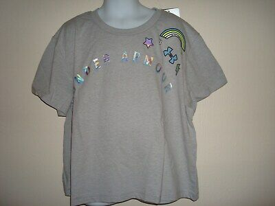 Girl Under Armour Oversized, Cropped  ,Crew Neck T-Shirt Nwt