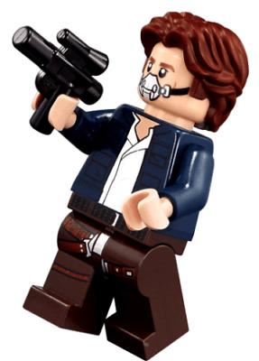 LEGO Star Wars HAN SOLO, YOUNG sw879 from 75192 Millennium Falcon