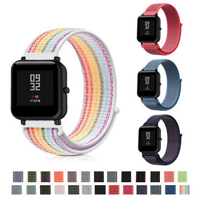 AU For Apple Watch Series 5/4/3/2/1 Nylon Sports iWatch Band Strap 38/40/42/44mm