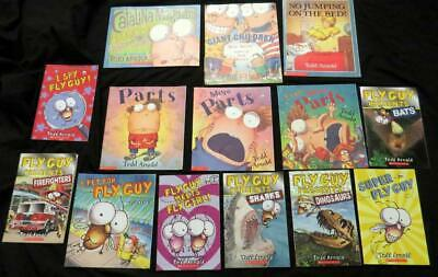 14 FLY GUY Science Parts BOOK LOT children early reading picture set Tedd Arnold