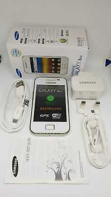 Samsung Galaxy Ace GT-5830i 3G Sim Free Unlocked Mobile Phone BLACK BOXED