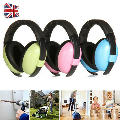 Baby Kids Ear Defenders Autism Muffs Noise Reduction Protectors Child Toddler UK