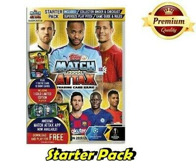 Match Attax 2019/20 Starter Pack Collector Binder + Super Squad Pack 19/20