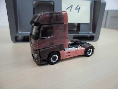 1//87 Herpa MB Actros 18 GiSp 2-Achs ZM Marmor Edition 934978