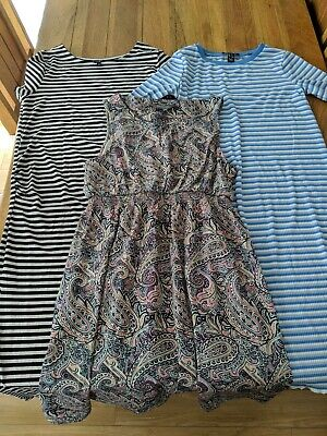 Maternity dress bundle size 10 New Look Peacocks