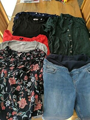 Maternity Clothing Bundle Size 12 Various Items