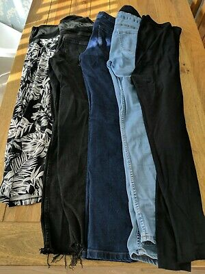 Maternity Bundle Size 10 Jeans Bottoms Casual