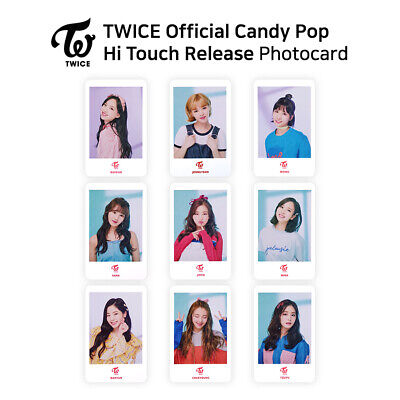 TWICE - Japan Candy Pop Hi Touch Release Official Photocard