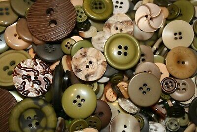 Hand Dyed New Buttons in Colorfull Mixes Lot of 50-Art, Crafts,Sewing,Scrapbook