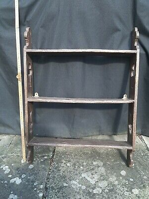 Antique Painted Pine Shelf